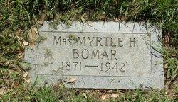 Myrtle Pearl Mattie <i>Hicks</i> Bomar
