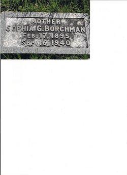 Sophia Christina-Gertrude <i>Johnson</i> Borchman
