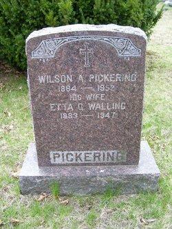 Etta G <i>Walling</i> Pickering