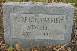 Florice <i>Palmer</i> Atwell