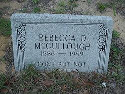 Rebecca <i>Durham</i> McCullough