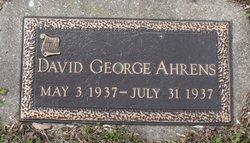 David George Ahrens