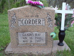 Gladys May <i>Stewart</i> Corder