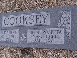 Lillie Rosetta <i>Malicoat</i> Cooksey