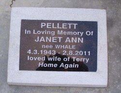 Janet Ann <i>Whale</i> Pellett