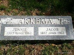 Jennie <i>Hoolsema</i> Arkema