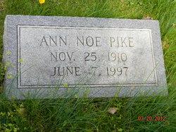 Anna Lee <i>Noe</i> Pike