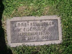 Emma <i>Rothweiler</i> Eisensmith