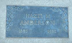 Hazel M <i>McKinnon</i> Anderson