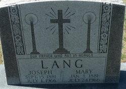 Maria Mary <i>Stadler</i> Lang
