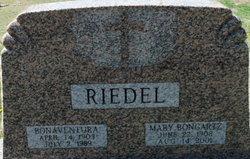 Mary <i>Bongartz</i> Riedel