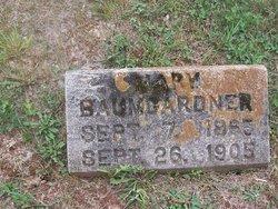 Mary E. <i>Brown</i> Baumgardner