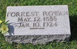 Forrest S Rowan