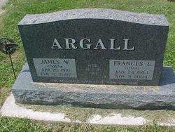 Frances Elizabeth <i>Schaaf</i> Argall