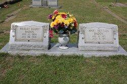 Mary Francis Mollie <i>Nettles</i> Badon