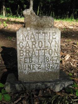 Mattie Carolyn Bratton