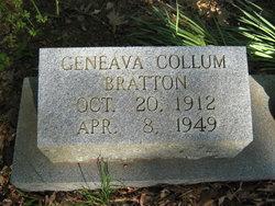 Geneva <i>Collum</i> Bratton