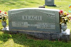 Maude M <i>Johnson</i> Beach