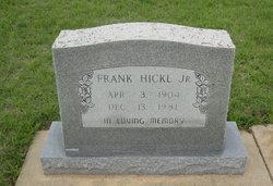 Frank Hickl, Jr