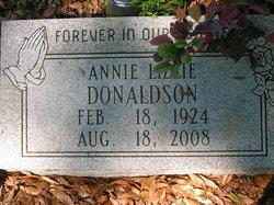 Annie Lizzie <i>Nelson</i> Donaldson