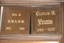 Eula May <i>Sanders</i> Evans