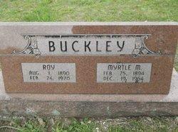 Myrtle Mable <i>Pryer</i> Buckley