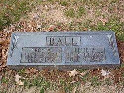 Effie P. <i>Holland</i> Ball
