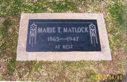 Marie <i>Tipton</i> Matlock