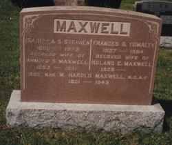 Frances G. <i>Tomalty</i> Maxwell