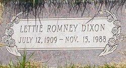 Lettie Vilate <i>Romney</i> Dixon