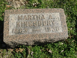 Martha Ann Mattie <i>Lincoln</i> Kingsbury
