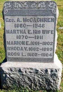 George Albert McCachren
