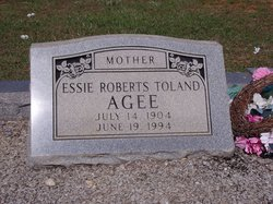 Gladys Estelle Essie <i>Roberts</i> Agee