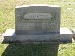Colonel Harrison Albertson
