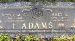 Victor M Adams, Sr