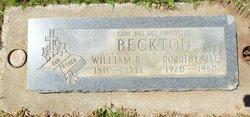 Dorothy Mae <i>Eastman</i> Beckton