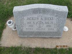 Jacklyn A. Jackie <i>Potter</i> Hicks