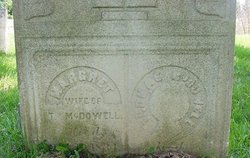 Margaret Rebecca <i>Williams</i> McDowell