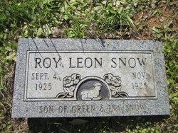 Roy Leon Snow