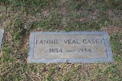 Fannie <i>Veal</i> Casey