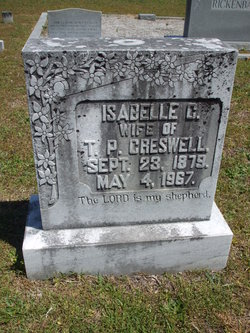 Isabelle <i>Creswell</i> Creswell