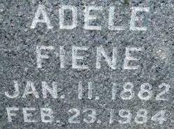 Adele Dorothea Catherine <i>Asche</i> Fiene