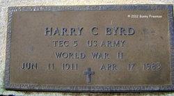 Harry C Byrd