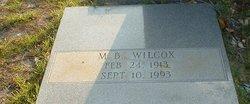 M B Wilcox