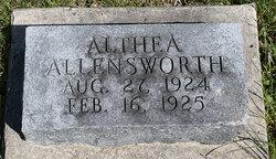 Althea Hope Allensworth