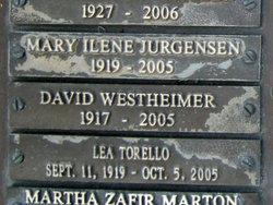 David Westheimer
