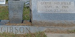 Gertie <i>Holifield</i> Gibson