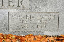 Virginia <i>Hatch</i> Meier