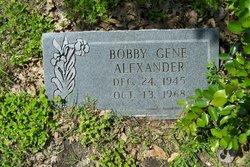 Bobby Gene Alexander