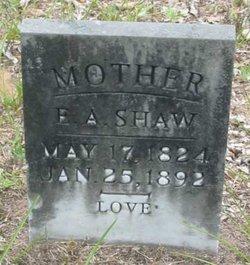 Elizabeth A. <i>Lyons</i> Shaw